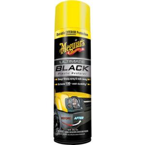Black Plastic Restorer Spray by Meguair's