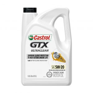 Castrol Edge 5w-20 GTX Ultraclean Engine Oil 5 itres
