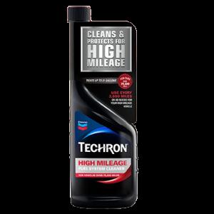 Chevron Techron High Mileage Fuel System Cleaner, 12 oz,