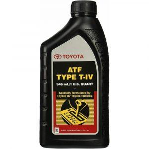 Genuine Toyota and Lexus TYPE T-IV ATF 0.18oz