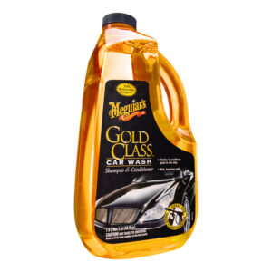 Gold Class Car Wash Shampoo & Conditioner by Meguair's