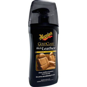 Gold Class Rich Leather Wipes by Meguair's