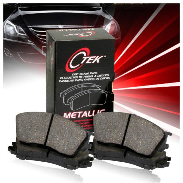 Hyundai Tucson Brake Pads (Rear) by C-tek