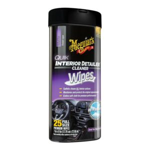 Interior Detailer Cleaner Wipes by Meguair's
