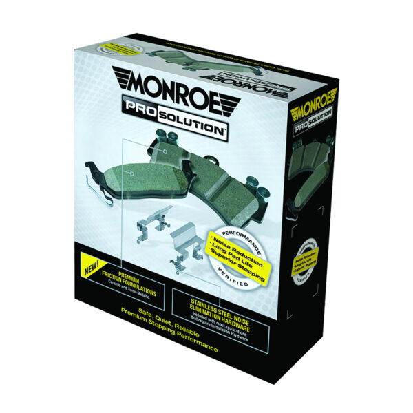 Lincoln MKS Brake Pads (Front) by Monroe