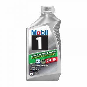 0W-16 Advanced 1L Mobil 1 Full Synthetic Motor Oil