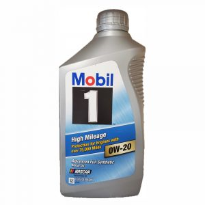0W-20 High 1L Mobil 1 High Mileage 75,000 miles