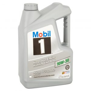 10W-30 Advanced 5L Mobil 1 Full synthetic motor oil