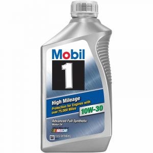 10W-30 High 1L Mobil 1 High Mileage 75,000 miles