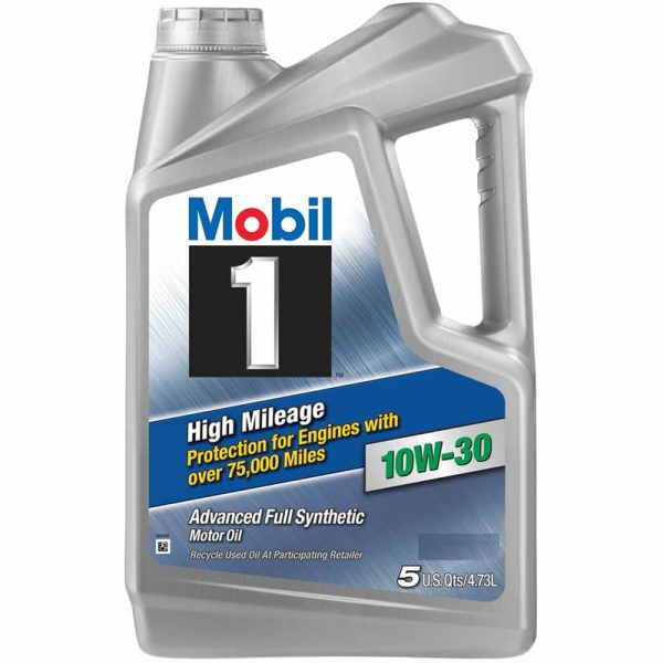 10W-30 High 5L Mobil 1 High Mileage 75,000 miles