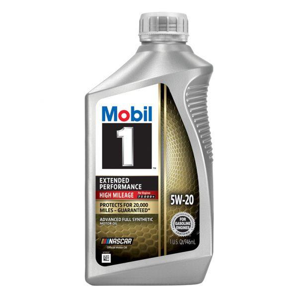 5W-20 Extended performance 1L Mobil 1 High mileage 20,000 miles