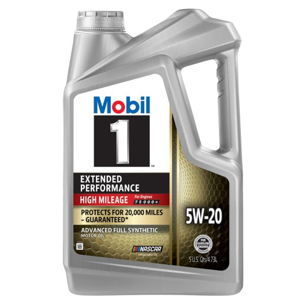 5W-20 Extended performance 5L Mobil 1 High mileage 20,000 miles