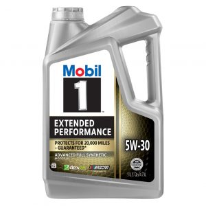 5W-30 Extended 5L Mobil 1 Performance 20,000 miles