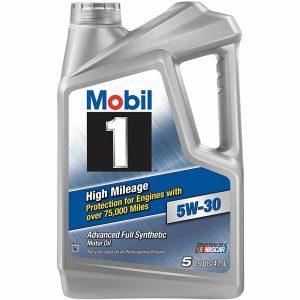 5W-30 High 5L Mobil 1 High Mileage 75,000 miles