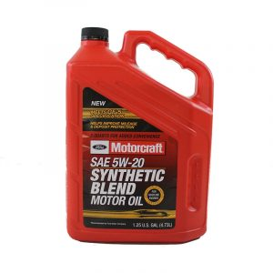 Motorcraft 5w-20 Premium Synthetic blend Motor Oil