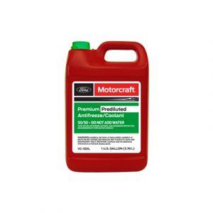 Motorcraft Premium Green Prediluted Antifreeze 50/50 Coolant 4 litres