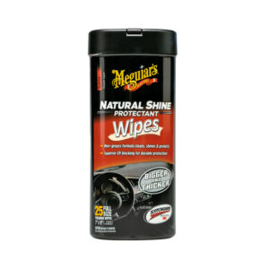 Natural Shine Protectant Wipes by Meguair's