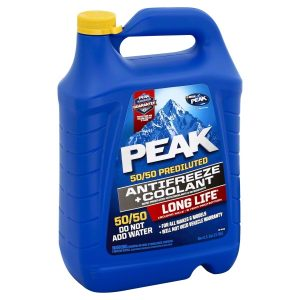 Peak long life Prediluted Antifreeze 50/50 Coolant 4 litres