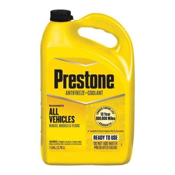 Prestone All Vehicles Prediluted 50-50 Coolant 4 litres