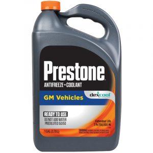 Prestone Dexcool Orange Antifreeze Coolant 4 litres