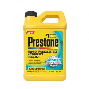 Prestone European Prediluted Antifreeze 50/50 Coolant 2 litres