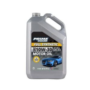 10w-30 Advanced 5L Prime guard Full synthetic motor oil