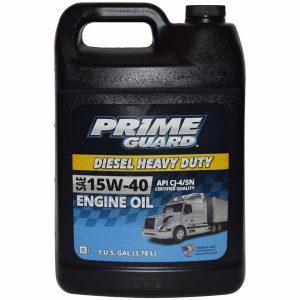Prime Guard 15w-40 Diesel heavy duty engine oil