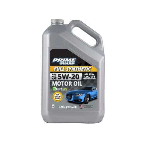 5w-20 Advanced 5L Prime guard Full synthetic motor oil