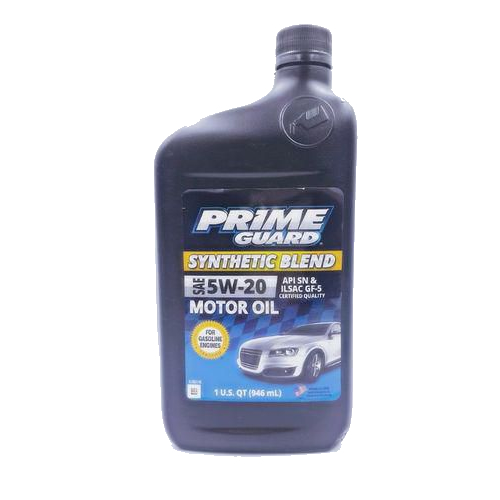 5w-20 Synthetic 1L Prime guard Blend motor oil