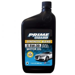 5w-30 Synthetic 1L Prime guard Blend motor oil