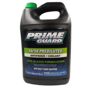 Prime Guard Prediluted Antifreeze 50/50 Coolant 4 litres