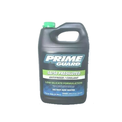 Prime Guard Prediluted Low Silicate Formula Antifreeze 50/50 Coolant 4 litres