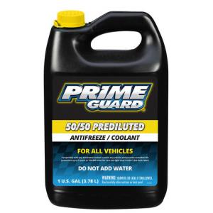 Prime Guard Prediluted Antifreeze 50/50 Coolant 4 litres