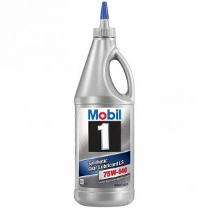 Synthetic Gear Lubricant LS 75W-140 by Mobil 1