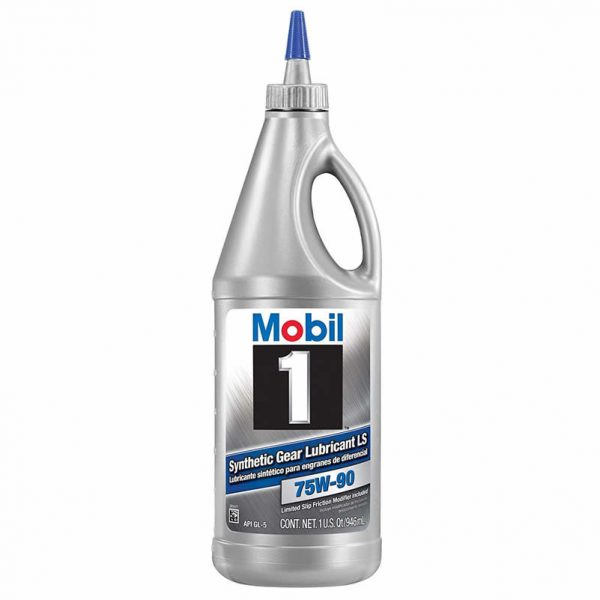 Synthetic Gear Lubricant LS 75W-90 by Mobil 1