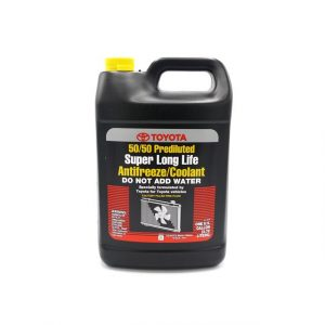 Toyota Prediluted Coolant 50/50 4 litres